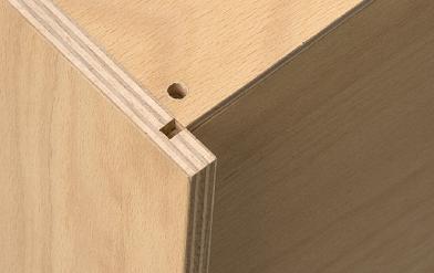 Schublade mit Details